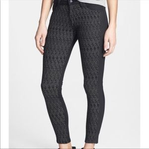 Joe's Jeans Herringbone Skinny Ankle Ponte Pants